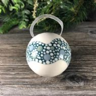 Claire Newell Porcelain Bauble (Teal)